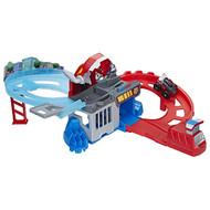 PLAYSKOOL HEROES Transformers Rescue Bots Flip Racers Chomp & Chase Raceway