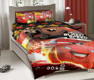 Disney Cars Blazin' Speed Full Size Bedding Set