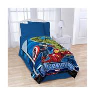 Avengers Blanket Twin / Full Micro Raschel Throw