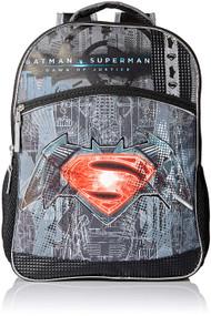 """Batman Vs. Superman Logo 16"""" Backpack"""