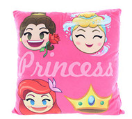 Disney Princess Emoji Decorative Pillow