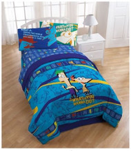 Phineas and Ferb Fleece Blanket