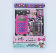 L.O.L. Surprise! 11 Piece Calculator Set