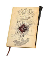Harry Potter The Marauder's Map Journal with Wand
