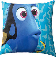 """Finding Dory Blue Water 12"""" Square Toss Pillow"""