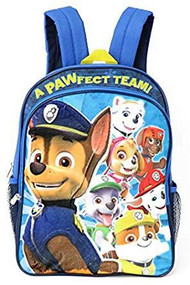 Paw Patrol Plush Applique Backpack, Blue