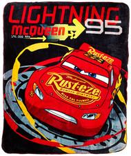 "Disney/Pixar Cars ""Lightning McQueen"" Double Sided Cloud Throw"