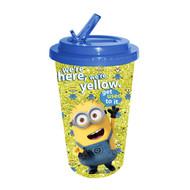 Despicable Me Minions Flip Straw 16oz Cold Cup