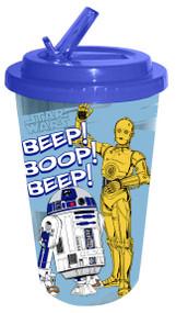 Star Wars Classic Droids Flip Straw 16 oz Cold Cup