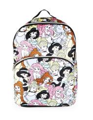 Disney Princess All Over Print Backpack