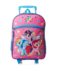 My Little Pony Stars 16-Inch Rolling Backpack