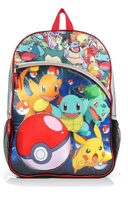 "Pokemon 16"" 3D Holographic Backpack"