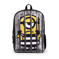 Despicable Me Minions Behind Bars Backpack