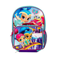 Shimmer & Shine Backpack with Insulated Lunch Bag