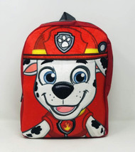 "Paw Patrol Marshall Plush Face 12"" Backpack"