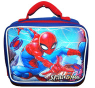 MARVEL SPIDER-MAN COMICS 3-D Insulated Lunch Tote