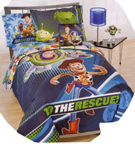 Toy Story 'To The Rescue' 3D Twin Size 5pcs Bedding Set