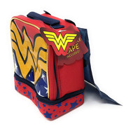 Wonder Woman Dual Compartment Lunch Tote with Cape