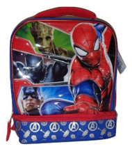 Marvel Avengers Dual Compartment Lunch Tote