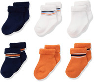 Gerber Baby Boys' 6-Pair Sock Little Athlete - 3-6 Months