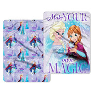 "Disney Frozen ""Make Magic"" Double Sided Cloud Throw"