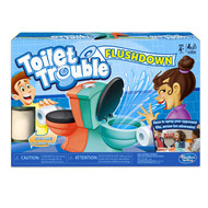 Hasbro Toilet Trouble Flushdown Game