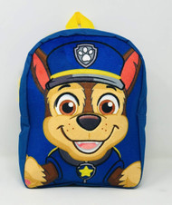 "Paw Patrol Chase Plush Face 12"" Backpack"