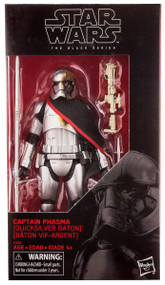 Star Wars The Black Series Captain Phasma (Quicksilver Baton)