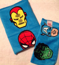 Marvel Heroes Bath 2 Pc Wash Set