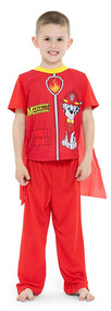 Paw Patrol Marshall 2-Piece Pajama Set with Cape - Size 4T