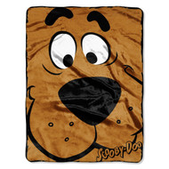 """Scooby Doo, Close Canine"" Micro Raschel Throw, 46 by 60-Inch"