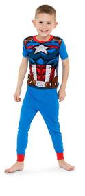 Marvel Avengers 4-Piece Pajama Set - Size 6