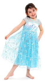 Disney Frozen Elsa Fantasy Nightgown - Size 8