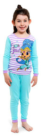 Shimmer and Shine 4-Piece Pajama Set - Size 4