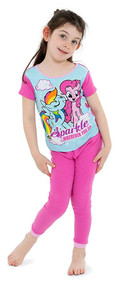 My Little Pony Sparkle 4-Piece Pajama Set - Size 4
