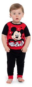 Disney Mickey Mouse 4-Piece Pajama Set - Size 12 Months