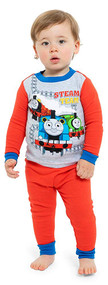 Thomas The Train 4-Piece Pajama Set - Size 2T