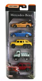 Matchbox Mercedes Benz Limited Edition 5-Pack