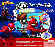 Spider-Man Imagine Ink 4-in-1 Activity Box Set