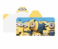 Minions 'Cozy Up' Hooded Towel Wrap