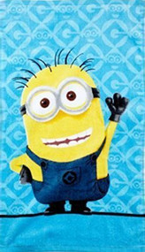 Minions Blue/Yellow Hand Towel