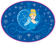 Cinderella Bathroom Bath Bedroom Rug
