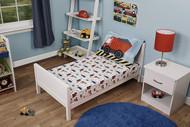 Funhouse Construction Trucks Toddler Bed Sheet Set