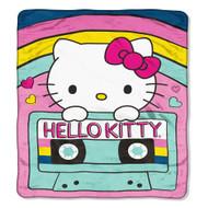 """Hello Kitty """"Throwback"""" Super Plush Throw"""