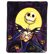 "The Nightmare Before Christmas ""Pumpkin Delight"" Super Plush Throw"