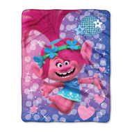 "DreamWorks Trolls ""Bright Star"" Silky Soft Throw"