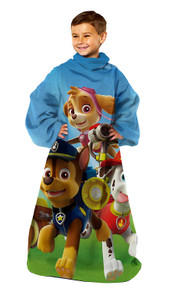 """Paw Patrol """"Race to the Rescue"""" Youth Comfy Throw"""
