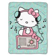 """Hello Kitty """"Rocking Kitty"""" Super Plush Throw"""