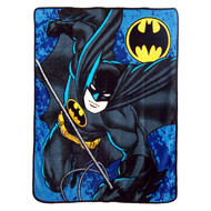 "Batman ""Knight Drop"" Super Plush Throw"