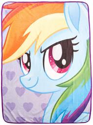 "My Little Pony ""Rainbow Selfies"" Super Plush Throw"